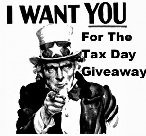 tax day giveaway