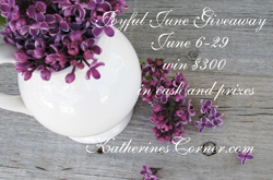 joyful june Giveaway button