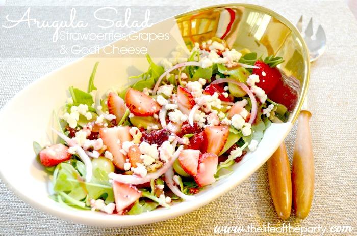 Arugula Salad with Strawberries