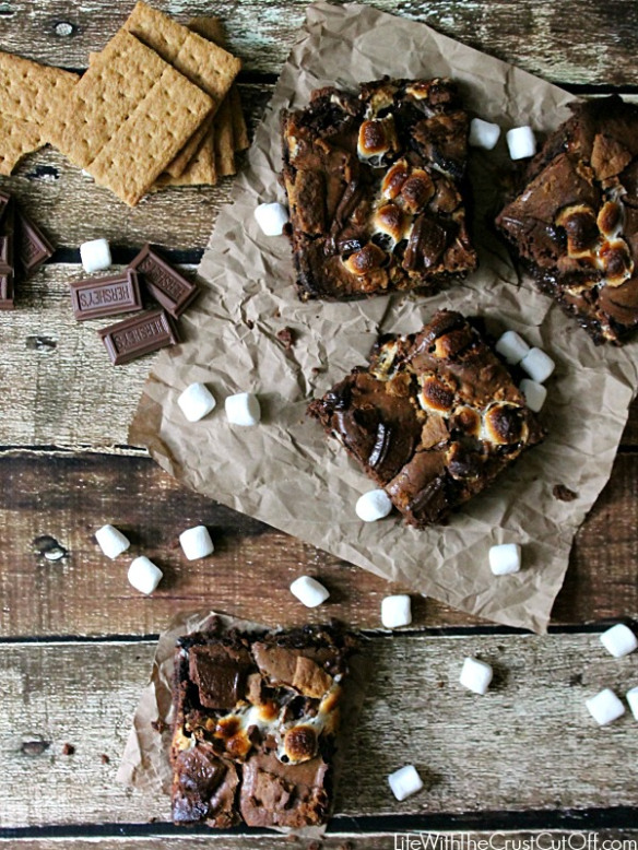 smores brownie recipe