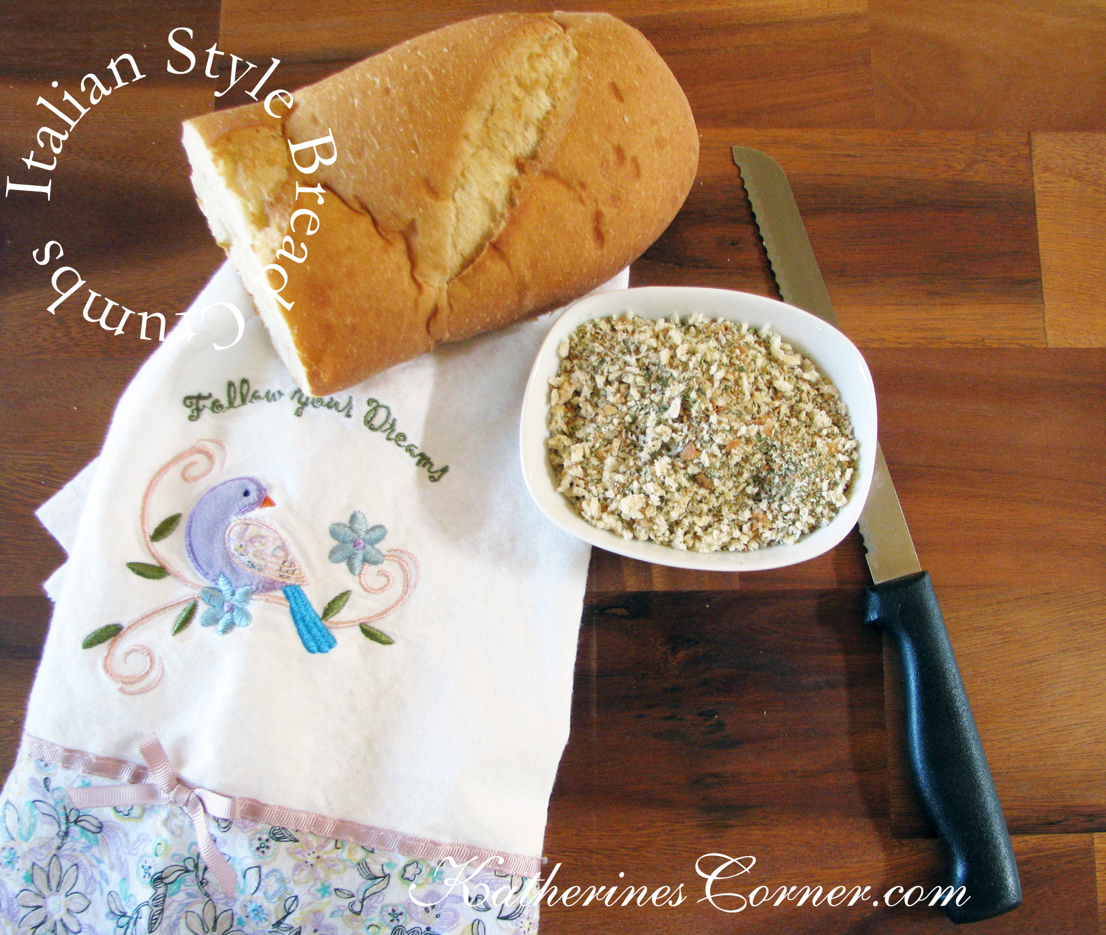 Italian Bread Crumbs Recipe
