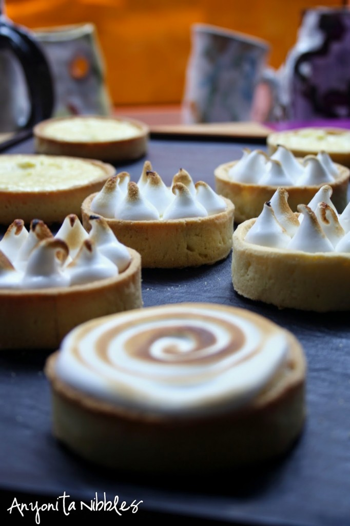 lemon merangue tarts