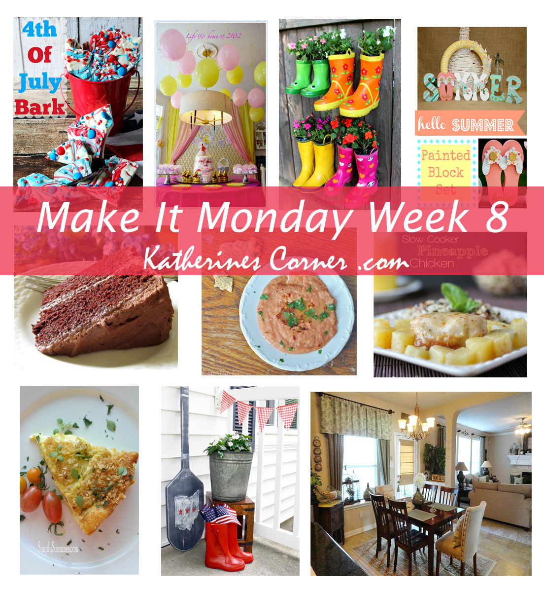 Make It Monday Week Eight