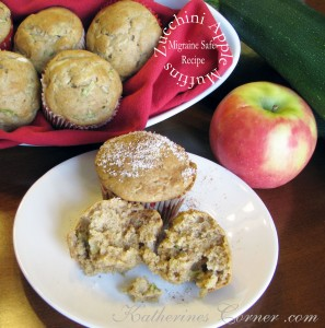 Zucchini Apple Cinnamon Muffins Recipe