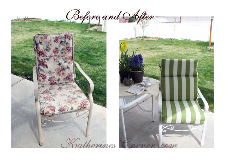patio furniture makeover