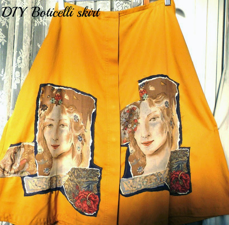 diy boticelli skirt