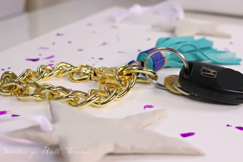 diy leather tassel