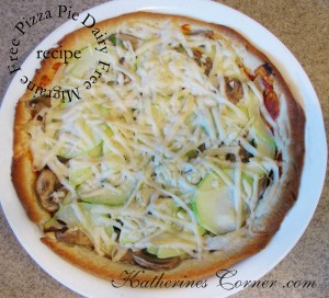 migraine free pizza recipe