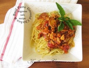 migraine safe chicken recipe Katherines Corner
