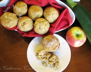 zucchini apple cinnamon muffins