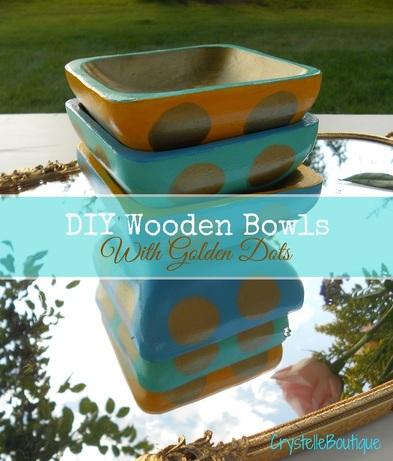 diy wood bowls