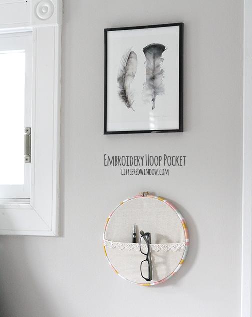 embroidery hoop eye glass keeper