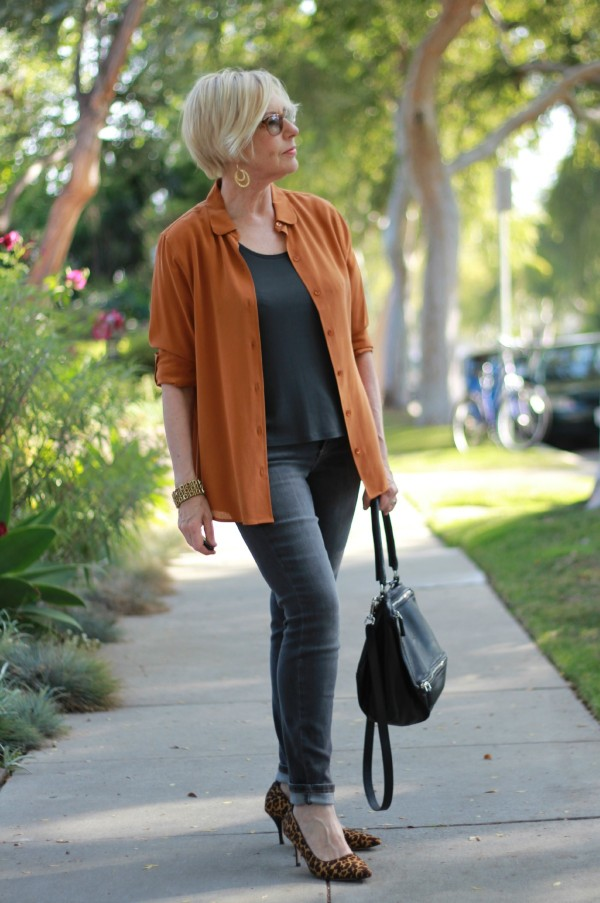 fall colors outfit