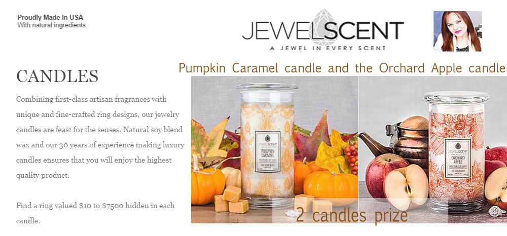 jewelscent candle giveaway