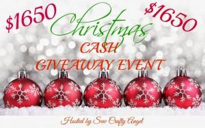 birthday plus Christmas Cash Giveaway