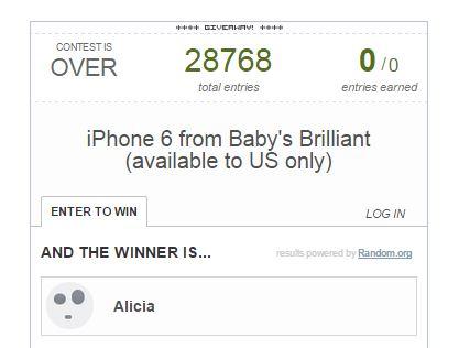 i phone 6 winner