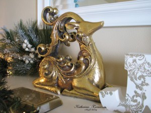 Christmas home tour 2014 mantel