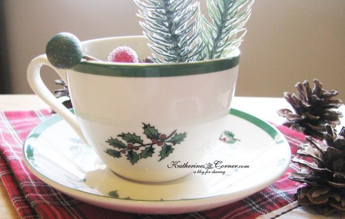 Spode teacup