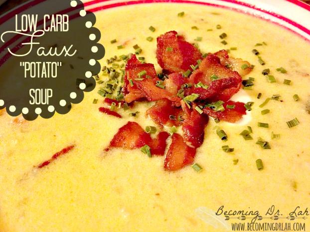 faux potato soup
