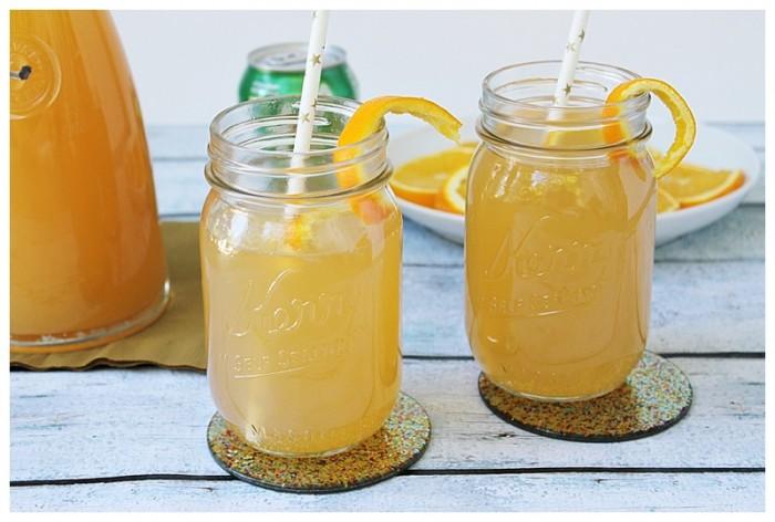 Fizzy citrus drink