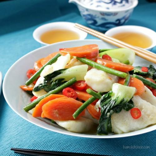 ginger fish stir way