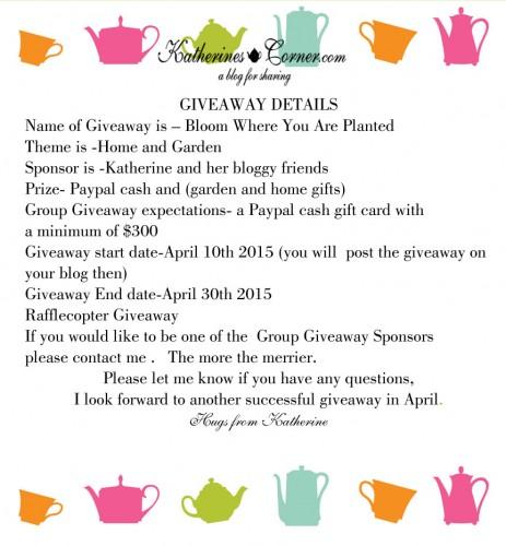 giveaway invitation