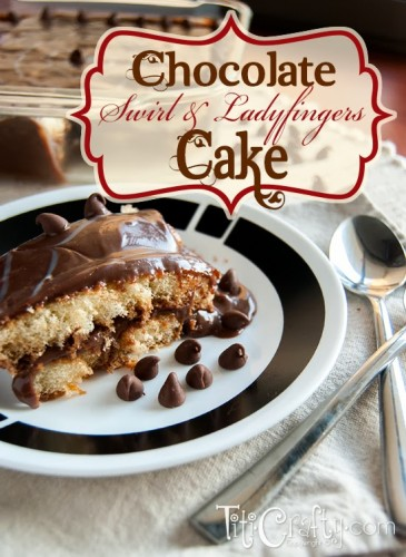 Attention chocolate lovers, Chocolate Swirl Ladyfinger Cake shared by ...