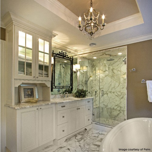 Chandelier Over Bathtub: 7 Surprising Places To Hang A Chandelier