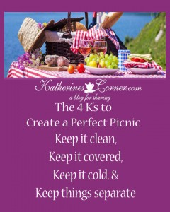 create a perfect picnic
