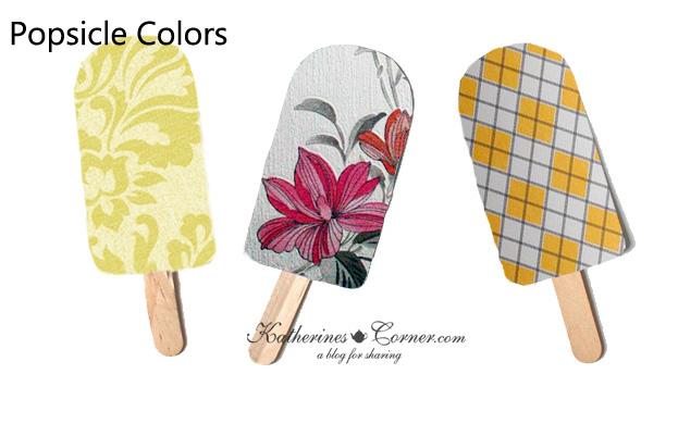Popsicle Colors