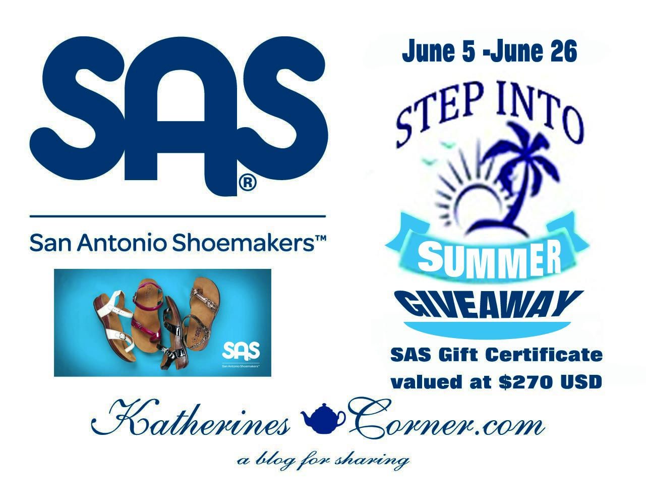 Step Into Summer Giveaway