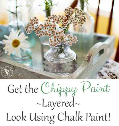 chippy paint tray
