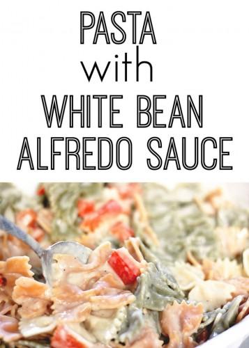 Pasta White Bean Alfredo