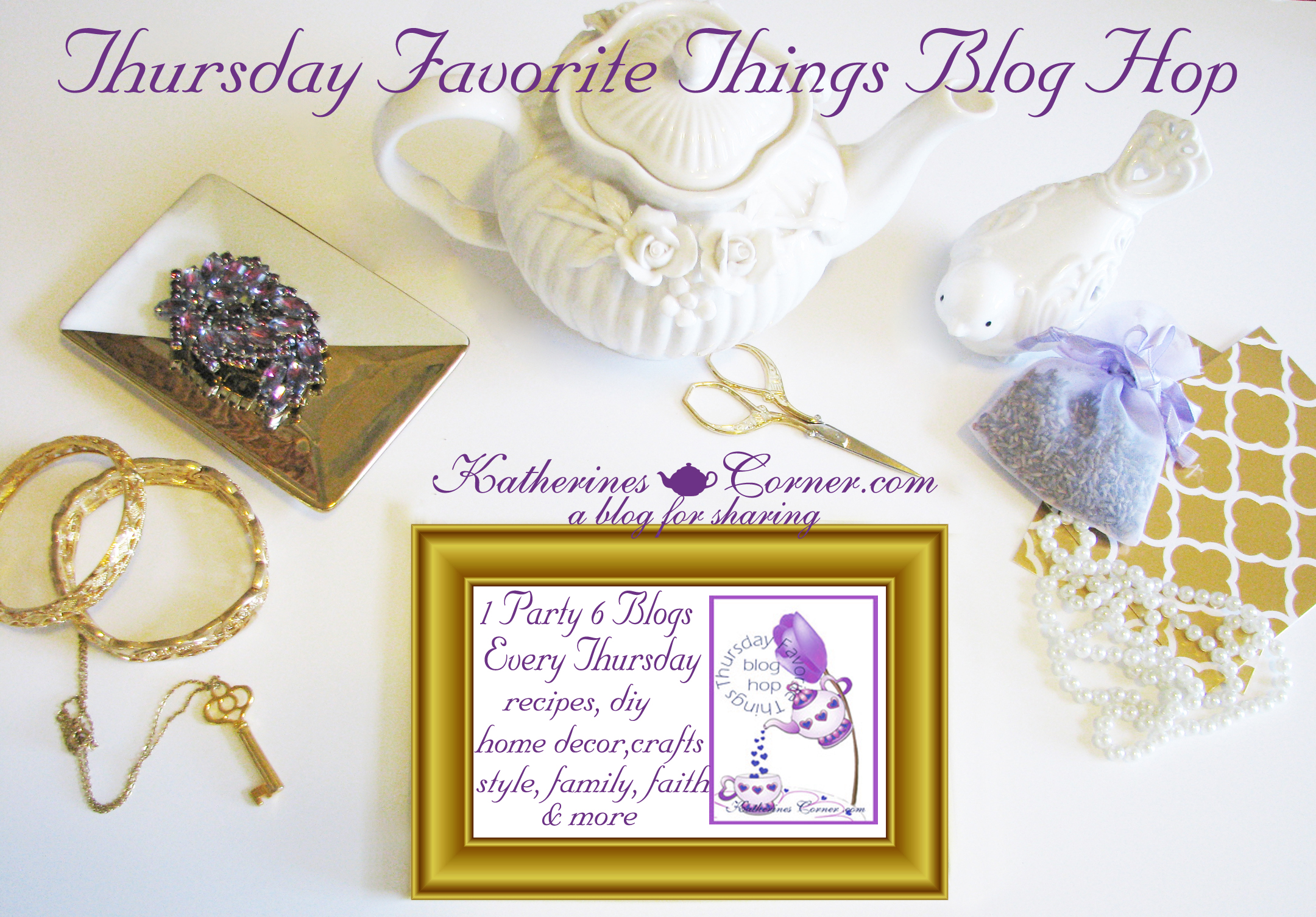 Thursday Favorite Things Blog Hop 204