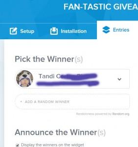 fan-tastic winner