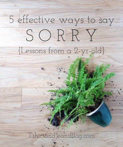 5 effective ways to say I am sorry