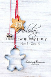 Annual Holiday Cookie Swap linky Party 2015