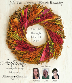 autumn wreath roundup