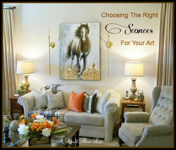 choosing the right lighting for art