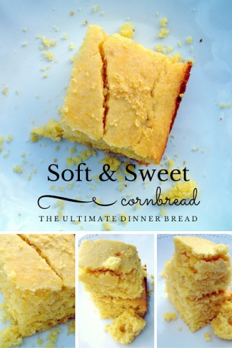 soft and sweet cornbread