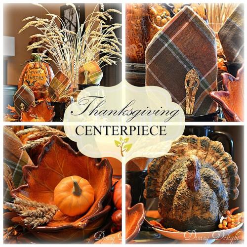 thanksgiving tray vignette