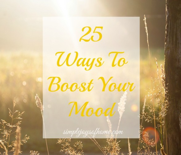 25 ways to boost your mood