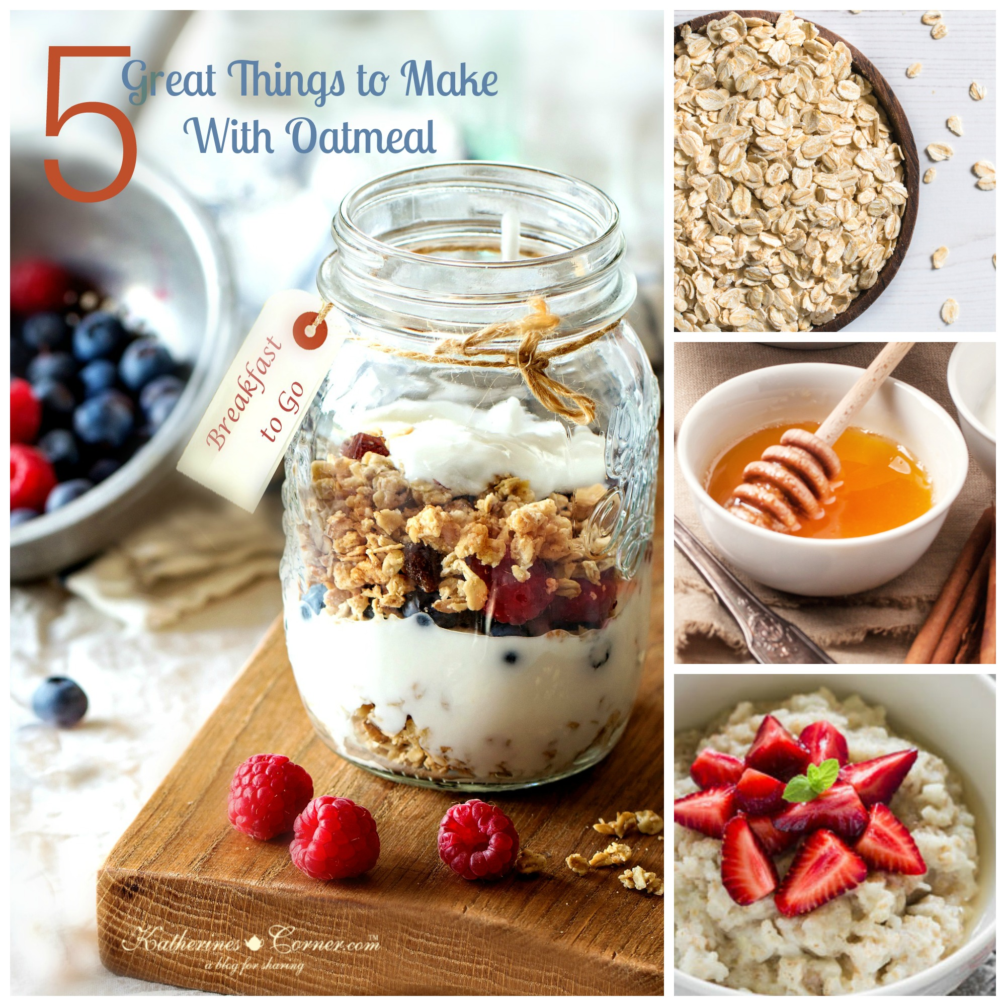 Five Great Things To Make With Oatmeal