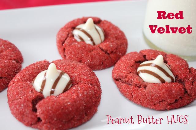 red velvet peanut butter cookies