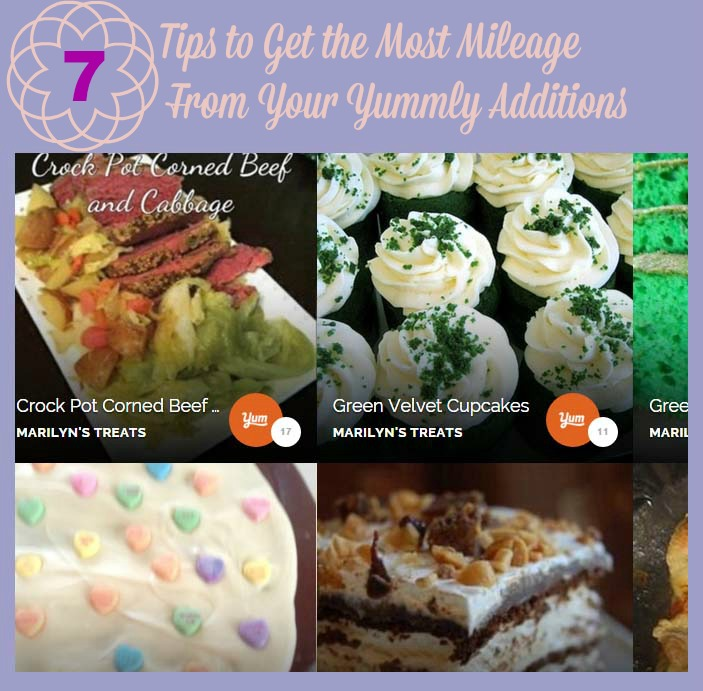 Tips to Get the Most Mileage From Your Yummly Additions