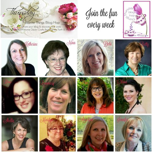 thursday favorite things blog hop link party hostesses