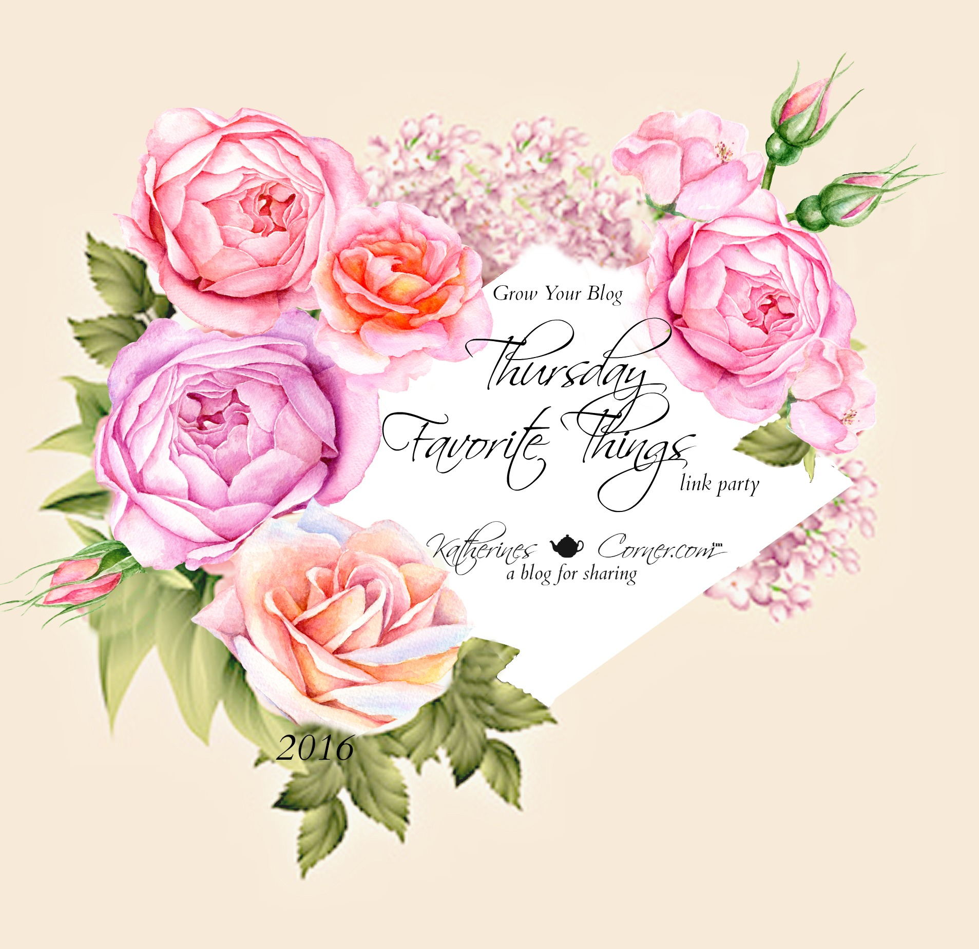 Thursday Favorite Things Link Party 242