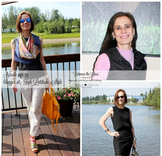 between the lines blogs written by women ages 50 - 80