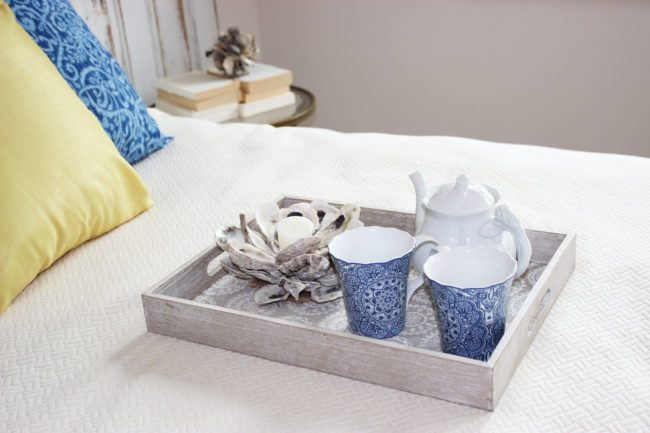 DIY Oyster Shell Mini Candle Holders