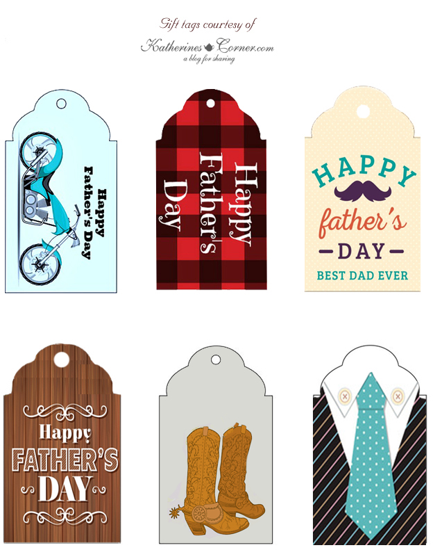 Fathers Day Gift Tag Printables